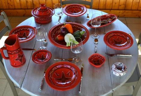 Collection Tatoué rouge