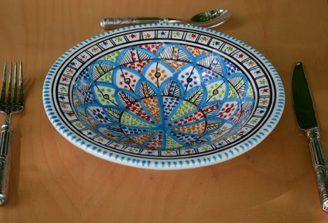 Assiettes couscous – Tebsis et creuses