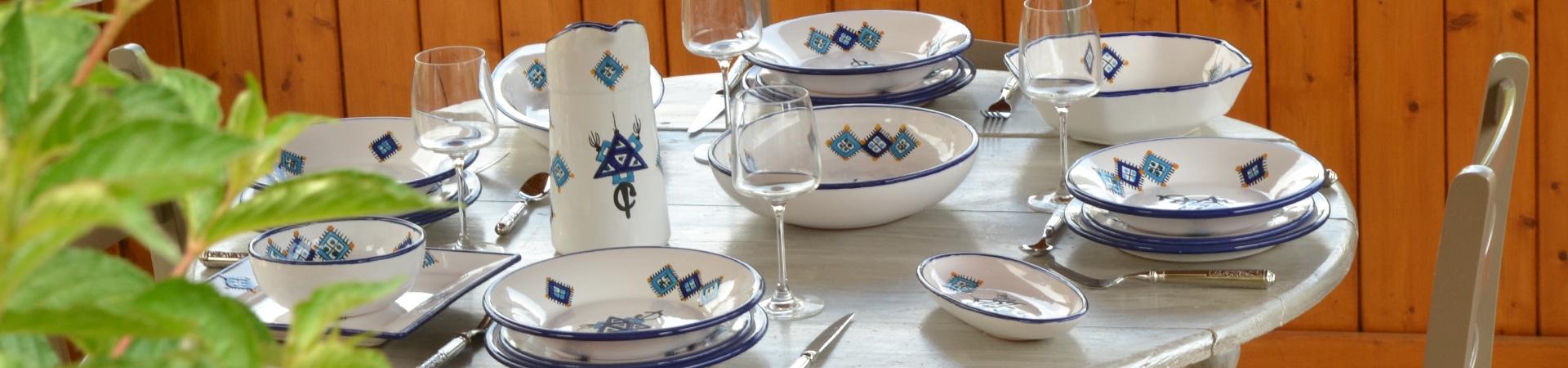 grossiste vaisselle orientale poterie
