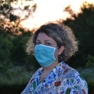 Masque en tissu norme AFNOR en stock